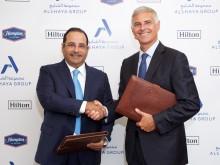Hilton and Alshaya Group partner on Master Development Agreement