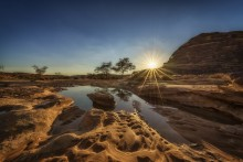 Sunrise in AlUla